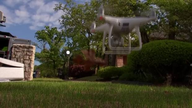 Drones Artificial Intelligence Used To Survey Storm
