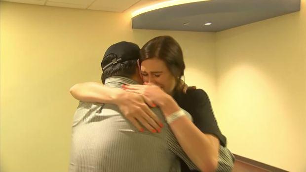 Good Samaritan Meets Parents of Rescued Children