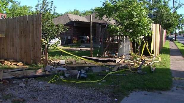 Photos Document Crashes Along Busy Dallas Street