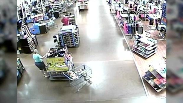 Wal-Mart Hostage Surveillance Footage
