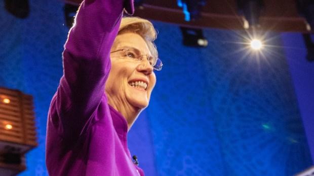 Everything Elizabeth Warren Said During Night 1 of the Democratic Debate in Miami
