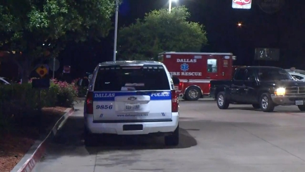 Raw Video: Dallas Police in Standoff in Hutchins