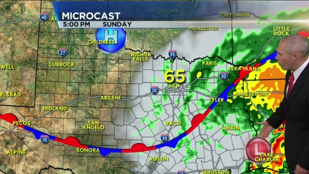 Saturday Morning Weather Oct 24, 2015