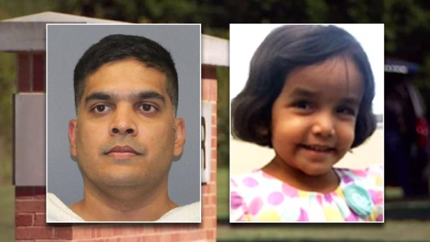 Body ID'd as Sherin Mathews; Father Says She Choked on Milk