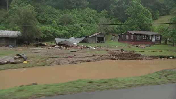 [NATL] Heavy Rains Cause Historic Flooding in West Virginia