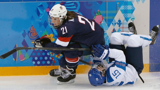 [NATL-SOCHI] Team USA: Women's Hockey at the Sochi Olympics