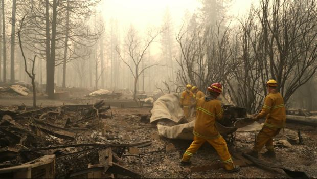 [NATL-BAY]PHOTOS: Wildfire Ravages Butte County, Leaving Dozens Dead