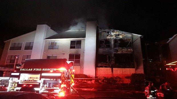 [DFW] Crews Extinguish Fire, Reignites Overnight