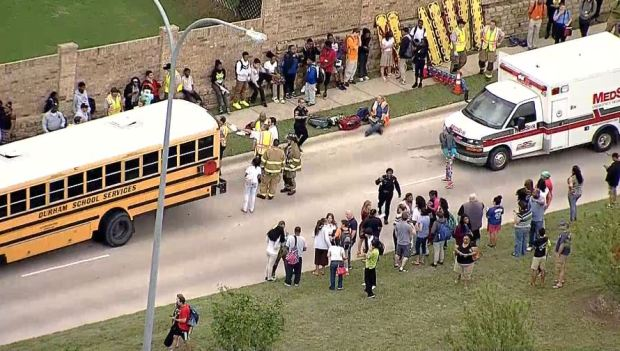 Crowley ISD Buses Crash; Students Injured