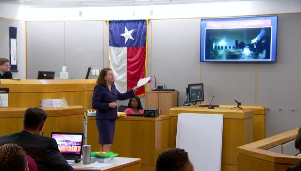 Closing Arguments in Former Mesquite Officer Trial
