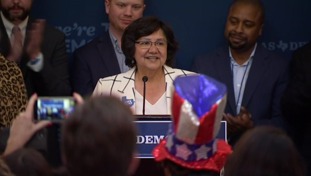 Democrat Lupe Valdez Concedes and Addresses Supporters