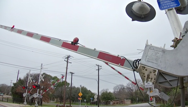 TEXRail Crossing Arms Malfunction In Colleyville