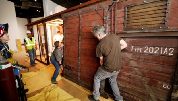 [DFW] Boxcar Restoration for Dallas Holocaust Museum Nears Completion