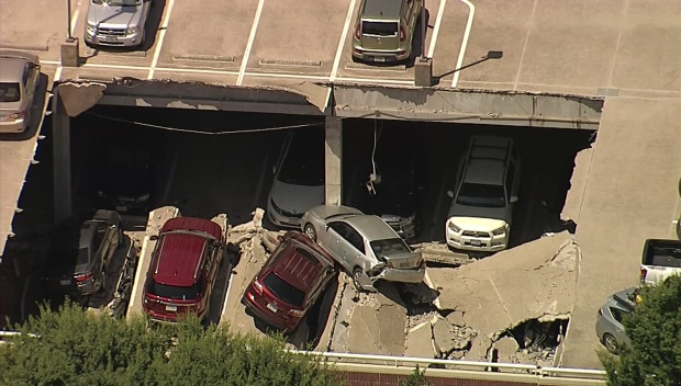 NBC 5 Investigates Gives Latest on Parking Garage Collapse