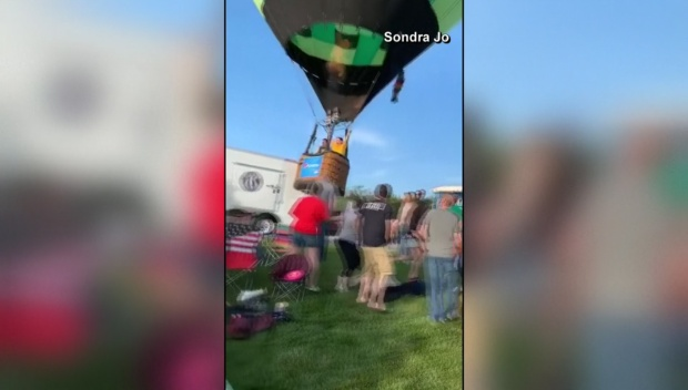 [DFW] Hot Air Balloon Crash Landing