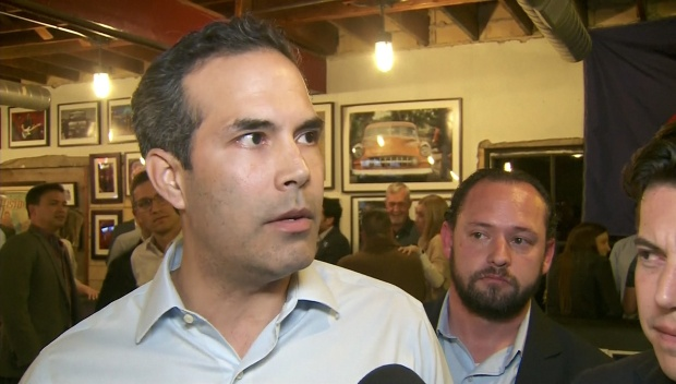 George P. Bush Talks About Primary Night Win