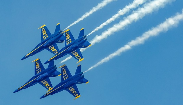 [DFW] After Long Absence, Blue Angels Return to Alliance This Weekend