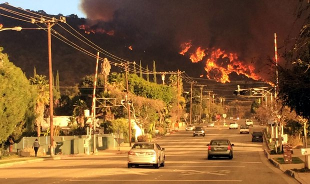 [LA] Noon Update: Three Arrests in Colby Fire
