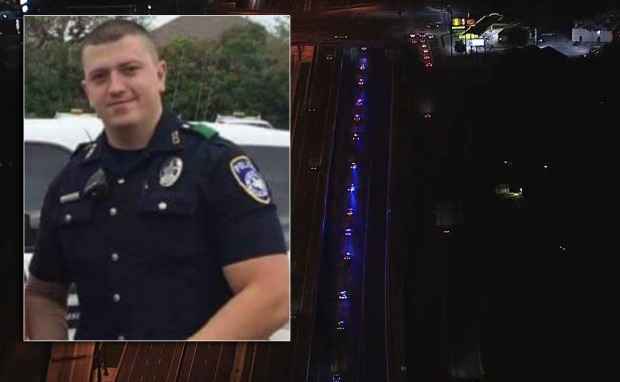 Police from North Texas, NYC Mourn Fallen Officer