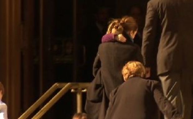 [NY] Philip Seymour Hoffman Mourned at Funeral