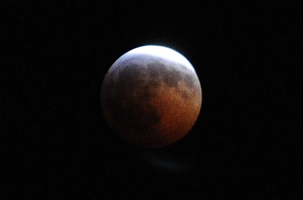 [DFW] Lunar Eclipse: What It Looked Like Over San Francisco