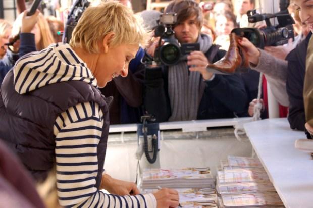 Pics: Ellen and Oprah on Mag Mile