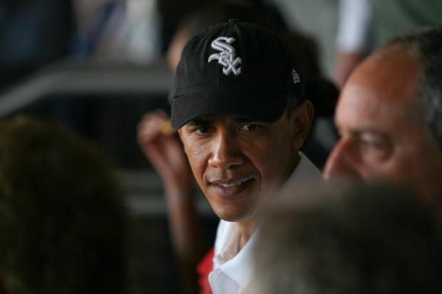 Obama Watches Strasburg Mow Through His White Sox
