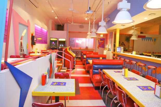 [NATL-CHI] First Look Inside Saved By the Max, Chicago's New 'Saved By the Bell'-Themed Pop-Up Diner