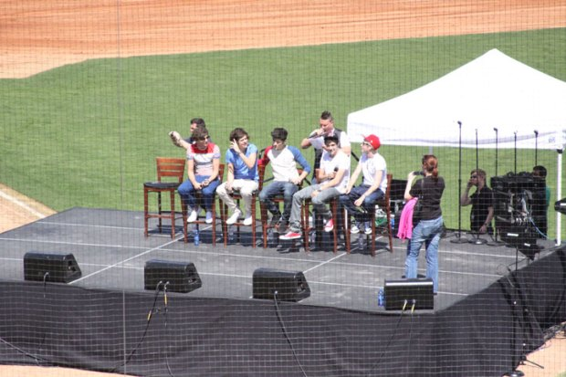 Photos: One Direction at Dr Pepper Ballpark