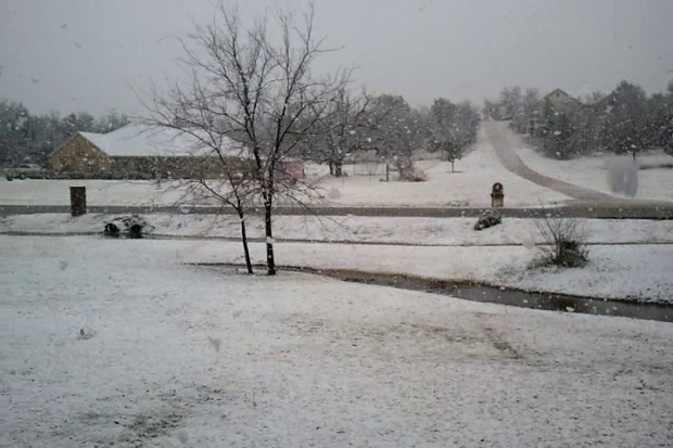 [DFW] Viewer Video: Snow Around the Metroplex