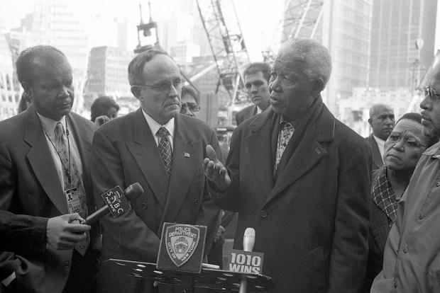 Nelson Mandela in New York City