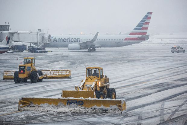 Most Flights Canceled at Bradley Airport