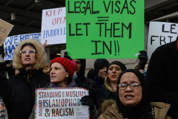 Trump Immigration Order Triggers Protests Across US