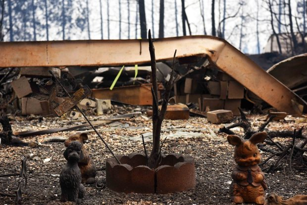 [NATL BAY] Video: Camp Fire Leaves Paradise, California in Ruins