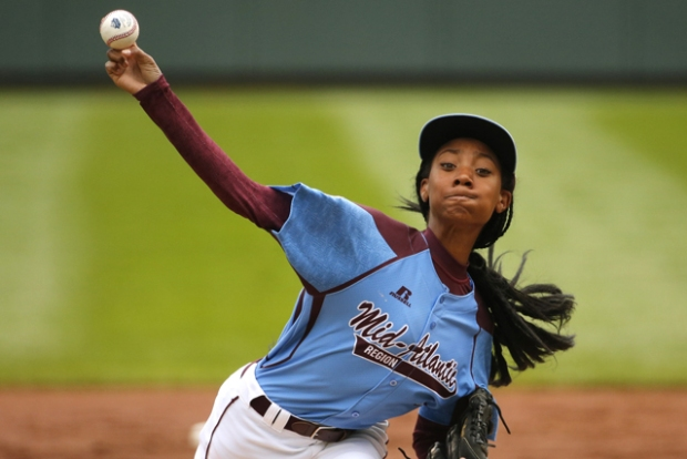[PHI] Dragons' Pitcher Mo'ne Davis on Big Win