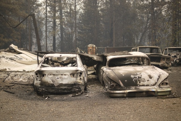 Paradise Destroyed: Camp Fire Leaves Small California Town in Ashes