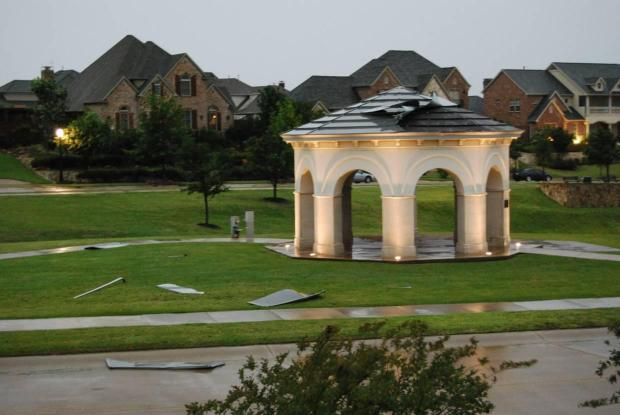 Storms Bring Heavy Damage to North Texas