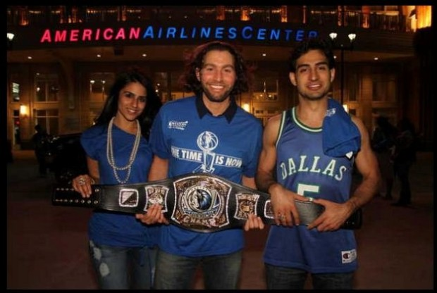 Instant Celebrity, the Mavs Belt Guy