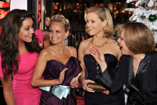 From the Red Carpet: Four Christmases' Fashion