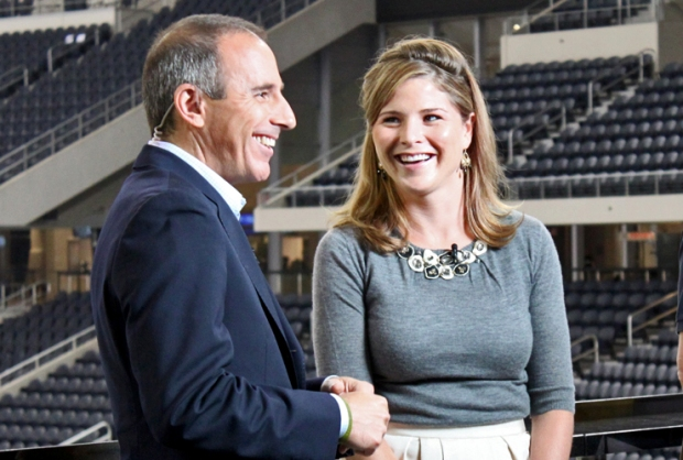 Today Show, Jenna Bush Hager Visits Jerry World