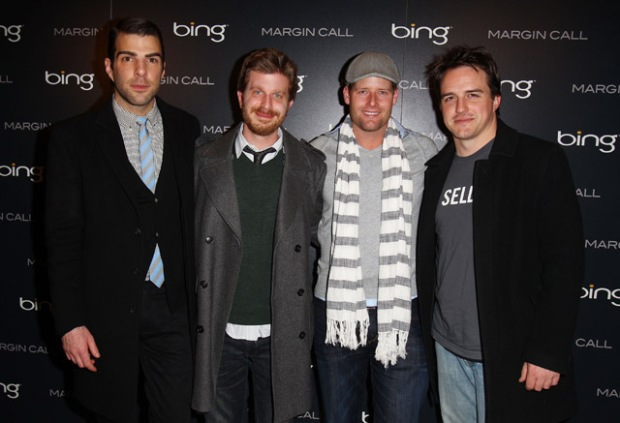 """[NBCAH] The Cast of """"Margin Call"""" Talk About Their Movie and Occupy Wall Street"""