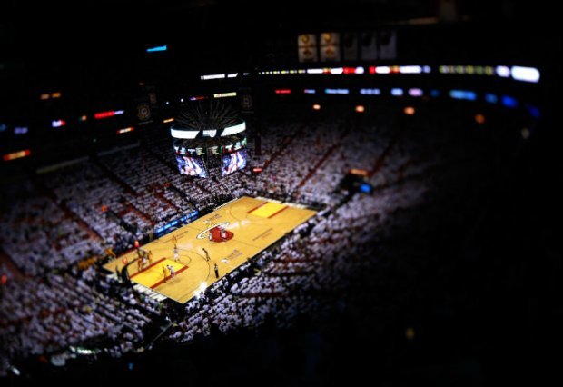 Heat-Pacers Game 1 Photos