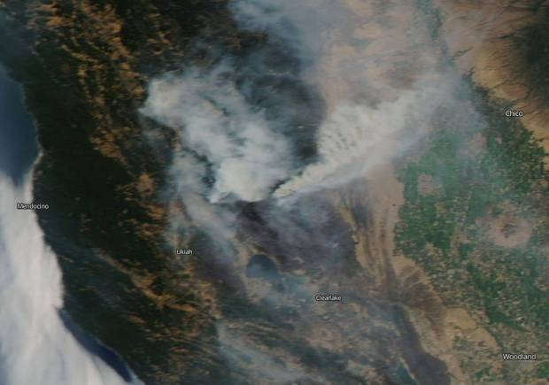 [NATL-LA GALLERY UPDATED 8/6] Smoke and Fire From Space: Wildfire Images From NASA Satellites