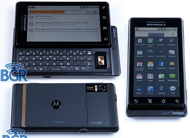 Motorola Droid: Look out, iPhone