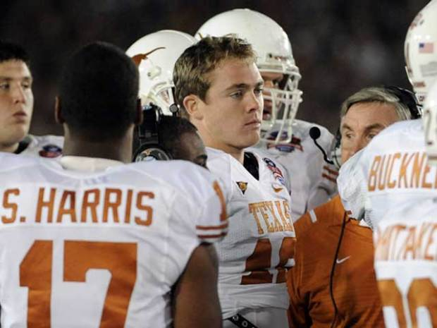 Longhorns Lose McCoy, BCS Title to Bama