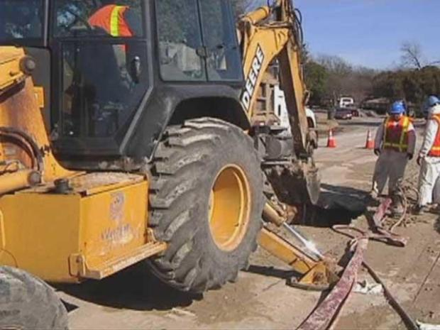 [DFW] Winter Wreaks Havoc on Water Mains