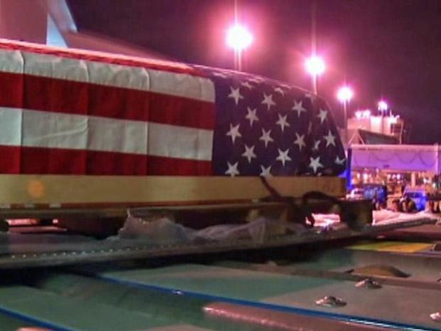 [DFW] Remains of Missing Airmen Arrive at DFW Airport