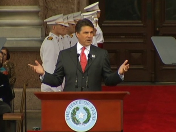 [DFW] Gov. Rick Perry Takes Oath of Office for Third Time