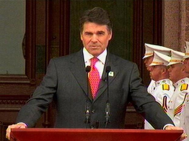 [DFW] Gov. Rick Perry's Inaugural Speech - Part 1