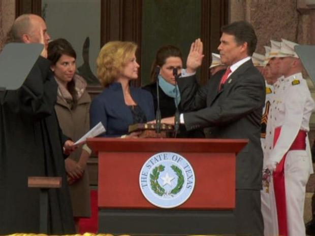 [DFW] Gov. Rick Perry Takes Third Oath of Office